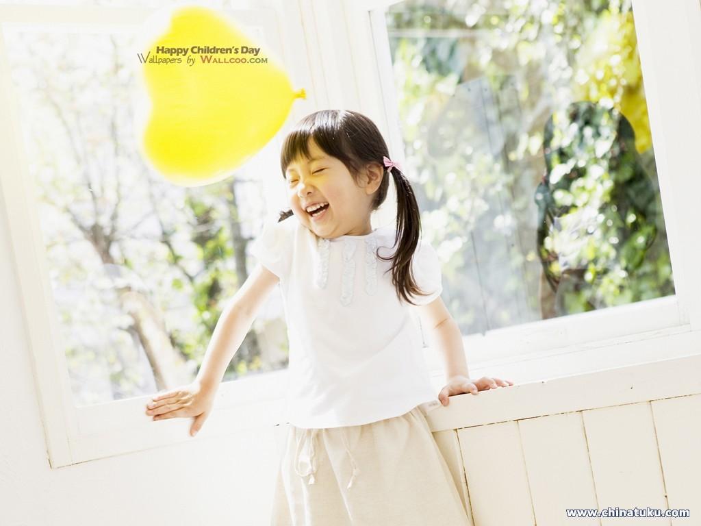 可爱儿童摄影壁纸(40张)