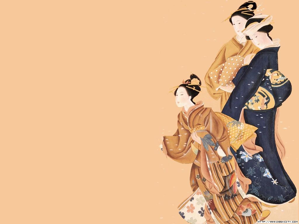 日本 中国 系列/日本仕女系列